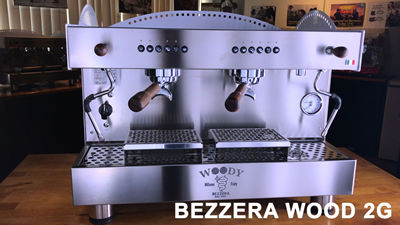 Bezzera Wood DE Espresso Machine from Italy for Cafe in Malaysia