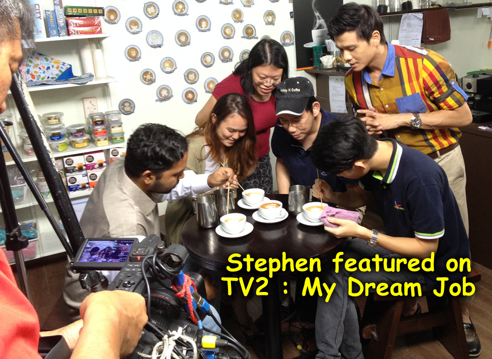 Stephen n Chu featured on TV2