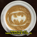 Latte Art - Batman