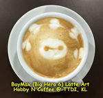 Latte Art - Baymax, Big Hero 6