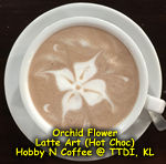 Latte Art - Orchid (Flower)