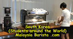South Korea Barista