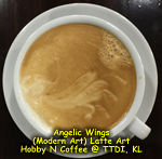 Latte Art - Angelic Wings