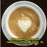 Latte Art - Strawberry