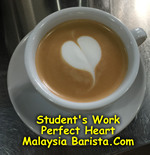 Latte Art - The Perfect Heart