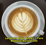 Latte Art - Fern
